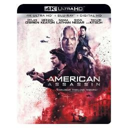 American assassin (blu ray/4kuhd/ultraviolet/digital hd) BR53418