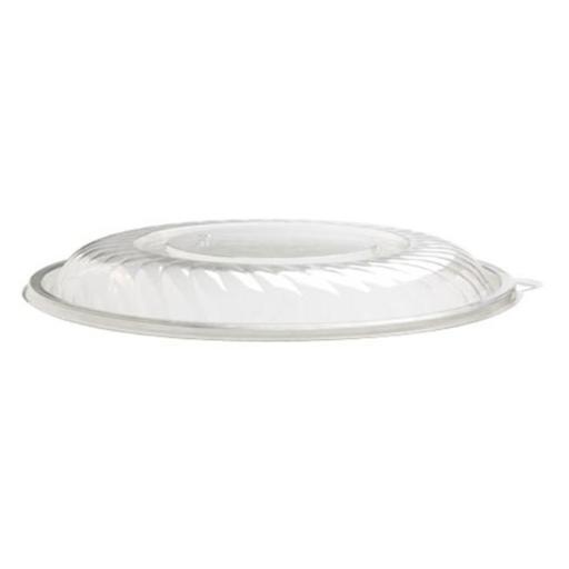 EMI Yoshi EMI-PTB16L Prepserve 16 in. Diameter Clear Pet Lid For 320Oz Bowls - Pack of 25