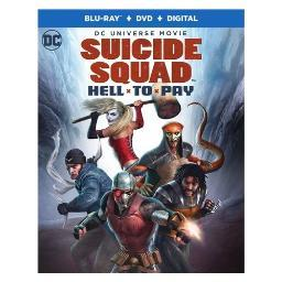 Dcu-suicide squad-hell to pay (blu-ray/dvd/digital hd) BR638303