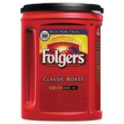 Folgers Coffee 48 oz Coffee Classic Roast Can