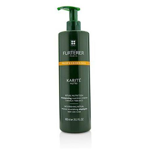 Rene Furterer 220216 20.2 oz Karite Nutri Nourishing Ritual Intense Nourishing Shampoo for Very Dry Hair