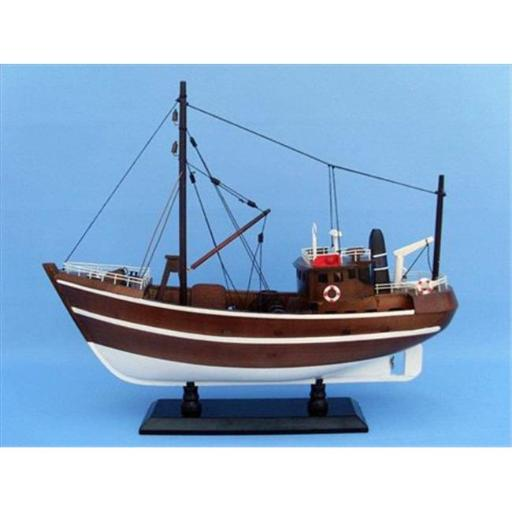 Fishing Impossible 19 in. Decorative Fishing Boat