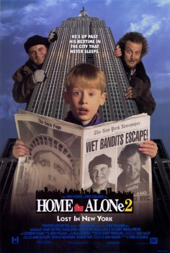Home Alone 2: Lost in New York Movie Poster Print (27 x 40) MWRD4VGOOG3AJW90