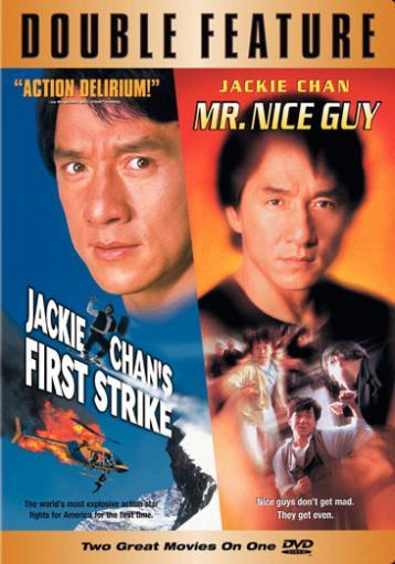 First strike/mr nice guy-jackie chan (dvd/double feature) nla 1283892