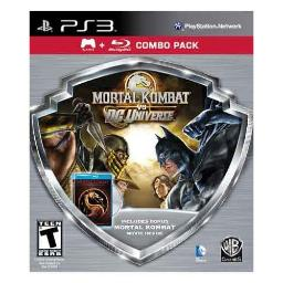 Mortal kombat vs dc game/mortal kombat movie bluray combo pk WAR 31046
