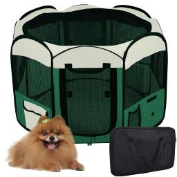 """Yescom 48""""x48""""x36"""" Large 2-Door 600D Oxford Cloth Pet Playpen Dog Puppy Tent Exercise Kennel Green"""