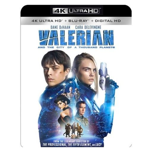 Valerian & the city of a thousand planets (blu ray/4kuhd/uv/dig hd) TUNWFRRFLIEGNXI1