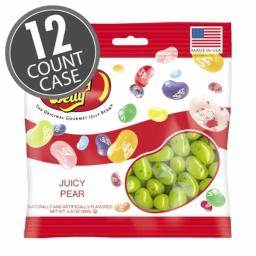 Jelly Belly 66121 3.5 oz Jelly Belly Juicy Pear, Pack of 12