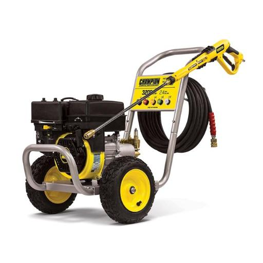 Champion 100385 3200 PSI 2.4 GPM Wheelbarrow Style Gas Powered Pressure Washer