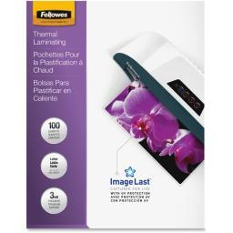 Fellowes, inc. 52454 laminating pouches preserve, protect, and enhance important documents. premium q
