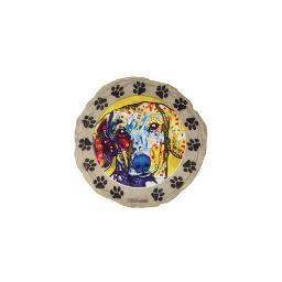Spoontiques 13291 9 stepping stone  dachshund