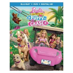 Barbie & her sisters in the puppy chase (blu ray/dvd w/digital hd) BR63174191