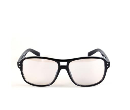 Kingsman Glasses Black Eyeglasses Eggsy Secret Service Movie Fashion Costume VHDXFAT6JTZOFJ9E