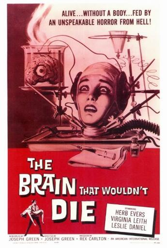 The Brain that Wouldn't Die Movie Poster Print (27 x 40) ODTDAO3TWE8RCYCN