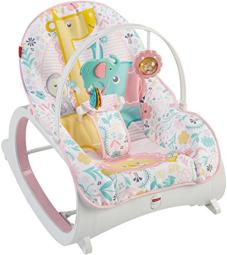 Fisher-price infant-to-toddler rocker-pink dth00