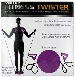 Fitness Twister with Handles - Trims Waist, Arms, Hips and Thighs