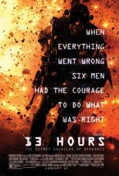 13 Hours The Secret Soldiers of Benghazi Movie Poster (11 x 17) MOVCB60745