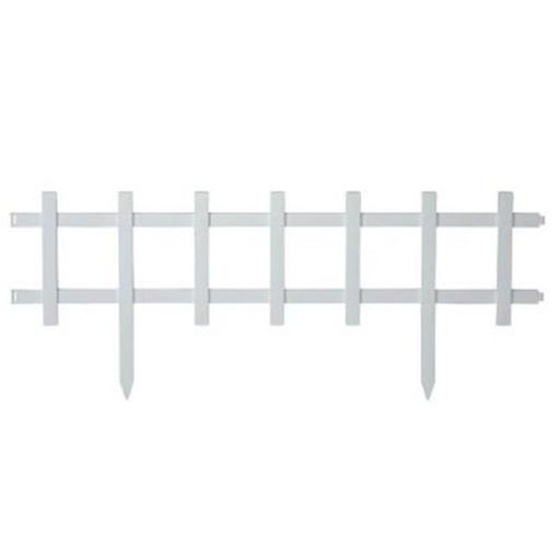 Resin Cape Cod Style Garden Fence, 50 ft.