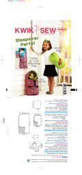 Sleepover Party-No Size -*SEWING PATTERN* K3909