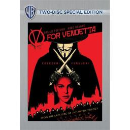 V FOR VENDETTA (DVD/2 DISC/SPECIAL EDITION/WS/O-SLEEVE) 883929453092