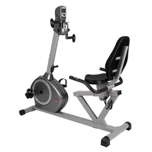 Sunny Health & Fitness SF-RB4631 Recumbent Bike with Arm Exerciser