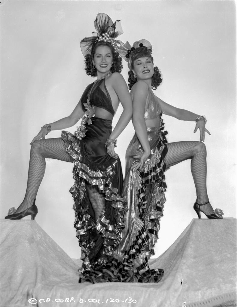 A Publicity Portrait For Two Latins From Manhattan Photo Print