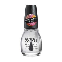 Sinful Colors Bold Color Nail Polish - 2686 - Rubber Top Coat