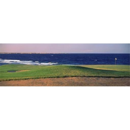 Panoramic Images PPI128059L Golf course at dusk The Cascades Golf And Country Club Soma Bay Hurghada Egypt Poster Print by Panoramic Images - 36 x