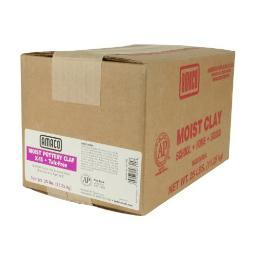 American Art Clay 46315M Moist Pottery Clay 25Lb