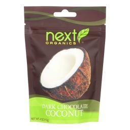 Next Organics Dark Chocolate - Coconut - Case of 6 - 4 oz.