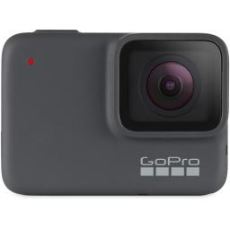 GoPro HERO7 Silver 4K Video Waterproof Digital Action Camera with Touch Screen