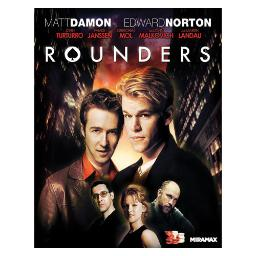 Rounders (blu ray) (ws/eng/eng sub/span sub/5.1 dts-hd) BR30971