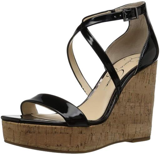 9cea26fc17b Jessica Simpson Womens Stassi Open Toe Special Occasion Ankle Strap Sandals