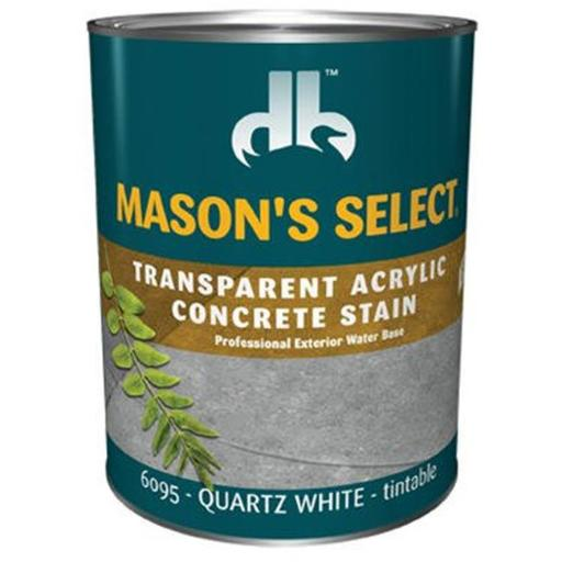 Duckback Products DB0060953-14 Masons Select Transparent Concrete Stain, Pack Of 6