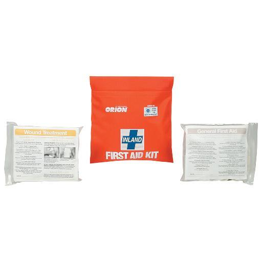 Orion safety products orion inland first aid kit soft case 943