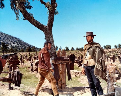 The Good The Bad And The Ugly Eli Wallach Clint Eastwood 1966 Photo Print
