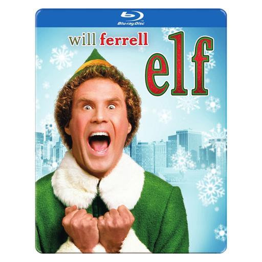 Elf (2003/blu-ray/dvd/uv/10th anniversary/2 disc/steelbook) 7CHAGTBB0DJFBEOX