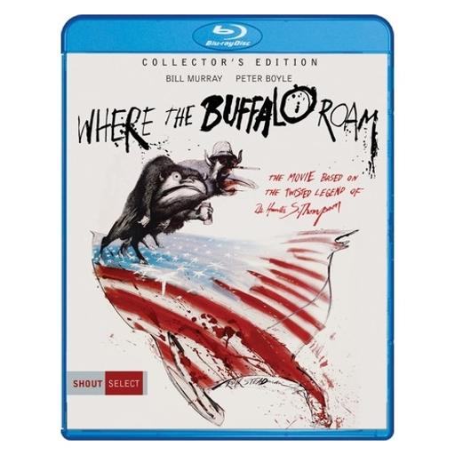 Where the buffalo roam collectors edition (blu ray) (ws) 1293378