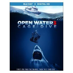 Open water 3-cage dive (blu ray w/digital hd) (ws/eng/eng sub/sp sub/5.1dts BR52337