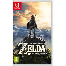 The Legend of Zelda: Breath of the Wild Nintendo Switch Import Region Free