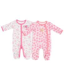 Betsey Johnson 2pc Footie Set