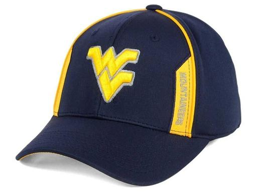 West Virginia Mountaineers NCAA TOW Kayo Stretch Fitted Hat