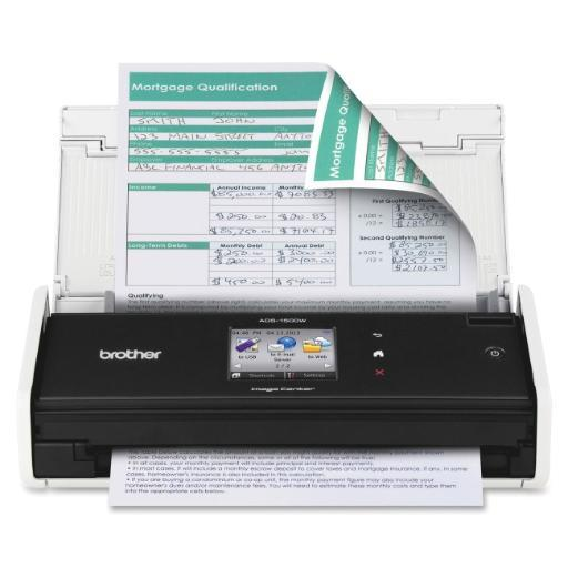 Brother intl (printers) ads-1500w ads-1500w portable desktop scan