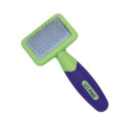Coastal Pet Products W6204-Ncl00 Green / Purple Coastal Pet Products Lil'L Pals Kitten Slicker Brush With Coated Tips
