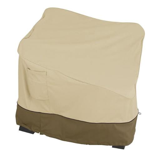 Classic Accessories 55-416-051501-00 Corner Sectional Sofa Cover - Small, Brown
