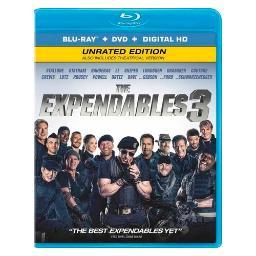 Expendables 3 (blu ray/dvd combo)(2discs/ws/eng/eng sub/sp sub/eng sdh/5.1) BR46265