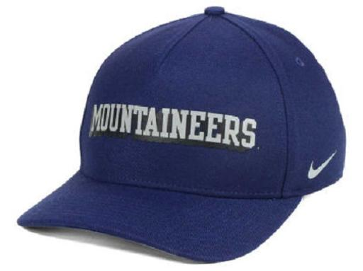 West Virginia Mountaineers NCAA Nike Local Dri-Fit Swoosh Flex Fitted Hat