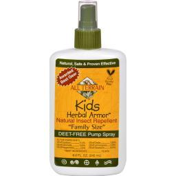 All Terrain Herbal Armor Natural Insect Repellent - Kids - Family Sz - 8 Oz