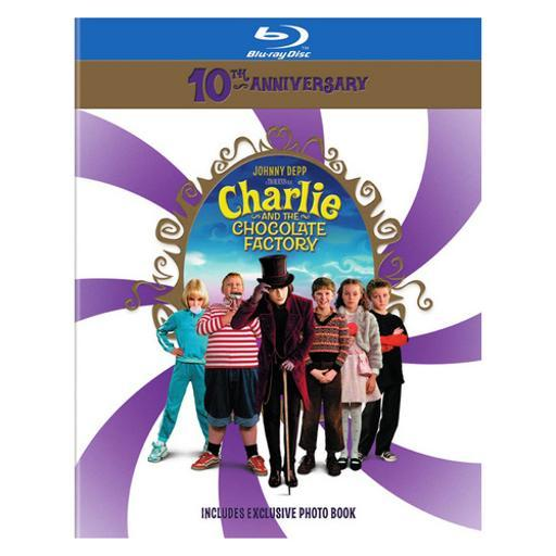 Charlie & the chocolate factory-10th anniversary (blu-ray/book) ZX0PZZVH0IB1SOHR