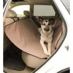 K&H Pet Products 7851 Tan K&H Pet Products Car Seat Saver Tan 54 X 58 X 0.25